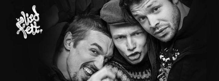 """Liedfett: Das hanseatische Akustik-Punk-Trio kündigt ihr neues Album """"laufenlassen"""" für März an!"""