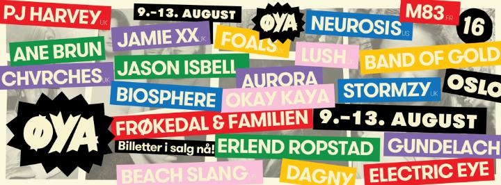 ØYA Festival 2016: PJ Harvey als Headliner bestätigt!
