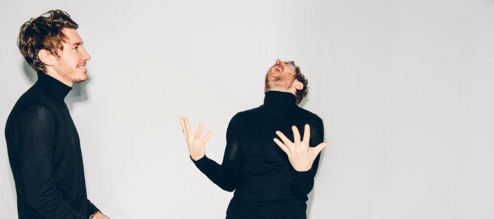 """Ab heute ist das Brüderpaar Fenech-Soler mit seinem neuen Album """"Zilla"""" bei uns auf Tour!"""