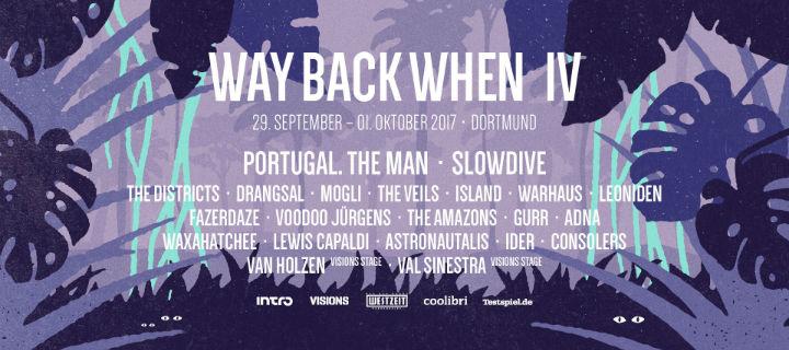Die wiedervereinigten Shoegazer Slowdive sind Headliner beim Dortmunder Way Back When Festival.