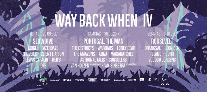 Das Way Back When startet den Verkauf von Tages-Tickets. Roosevelt, Loney Dear und weitere Bands bestätigt.