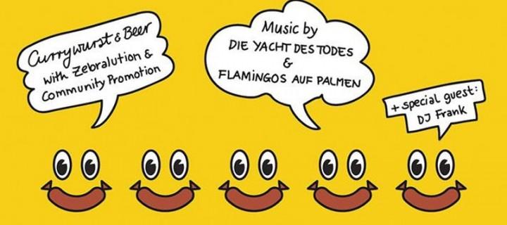 What A Wurst! Wir laden zusammen mit Zebralution zum Reeperbahn Festival-Empfang