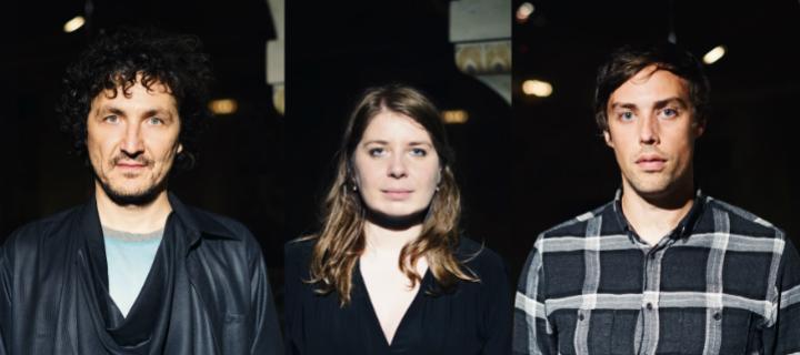 Anne Müller (Erased Tapes, Nils Frahm),Alex Stolze (Bodi Bill) & Sebastian Reynolds zeigen Video zu Holy Island