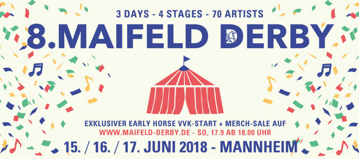 "Das Maifeld Derby startet den Line-Up-Adventskalender mit Deerhunter. ""Helga-Award"" in der Kategorie feinstes Booking."