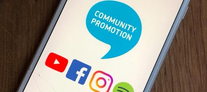 Wir suchen Unterstützung im Bereich Social Media-Promotion