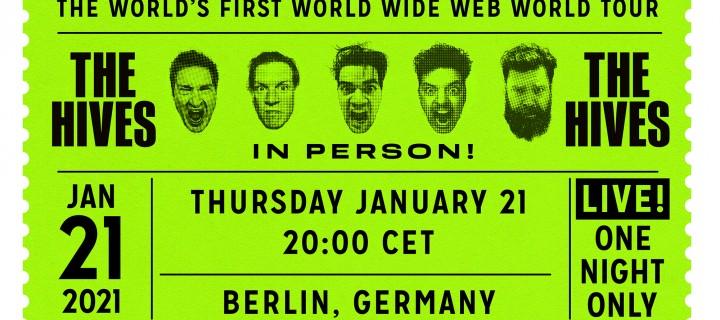 The Hives kündigen die erste Welttournee im Internet an! Deutschland-Show im Januar!